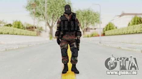 Battery Online Russian Soldier 5 v2 pour GTA San Andreas deuxième écran