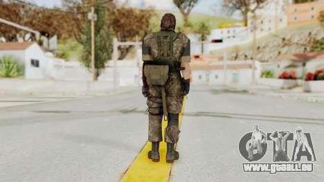 MGSV The Phantom Pain Venom Snake Woodland für GTA San Andreas dritten Screenshot