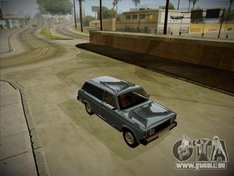 VAZ 2104 avec un grand coffre pour GTA San Andreas laissé vue