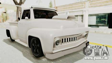 GTA 5 Slamvan Race pour GTA San Andreas vue de droite