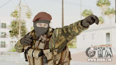 COD Black Ops Russian Spetznaz v4 für GTA San Andreas