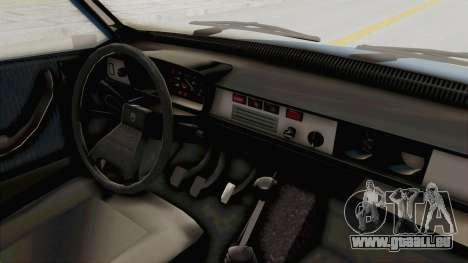 Dacia 1310 MLS 1988 Stock für GTA San Andreas Innenansicht