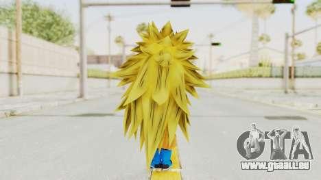 Dragon Ball Xenoverse Gohan Teen DBS SSJ3 v2 für GTA San Andreas dritten Screenshot
