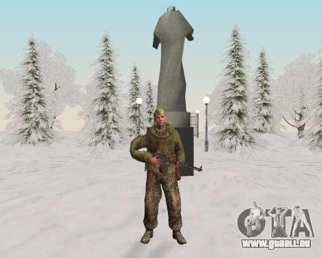 Pak Kämpfer der roten Armee für GTA San Andreas achten Screenshot