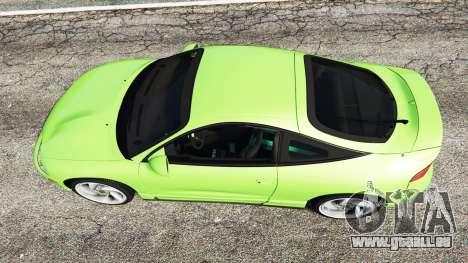 GTA 5 Mitsubishi Eclipse GSX vue arrière