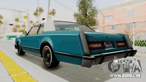 GTA 5 Dundreary Virgo Classic Custom v3 IVF pour GTA San Andreas laissé vue