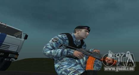 Un Policier Anti-Émeute pour GTA San Andreas deuxième écran