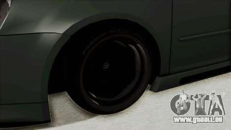 Volkswagen Golf MK5 JDM für GTA San Andreas Rückansicht
