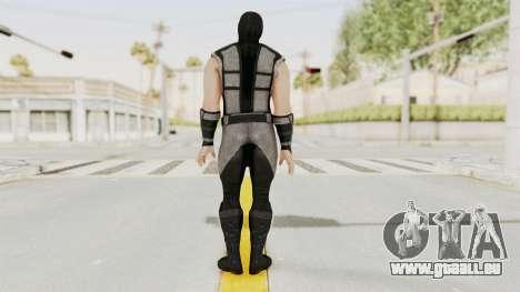 Mortal Kombat X Klassic Human Smoke pour GTA San Andreas troisième écran