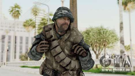COD BO Russian Spetznas Flak MP v2 pour GTA San Andreas