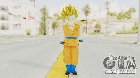 Dragon Ball Xenoverse Gohan Teen DBS SSJ2 v2 für GTA San Andreas zweiten Screenshot