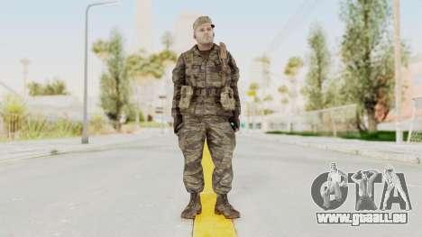 COD BO SOG Mason v2 pour GTA San Andreas deuxième écran