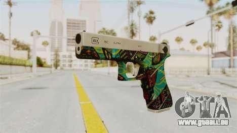 Glock 18C pour GTA San Andreas