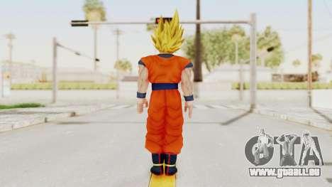 Dragon Ball Xenoverse Goku SSJ1 pour GTA San Andreas troisième écran