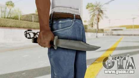 Liberty City Stories - Knife pour GTA San Andreas troisième écran