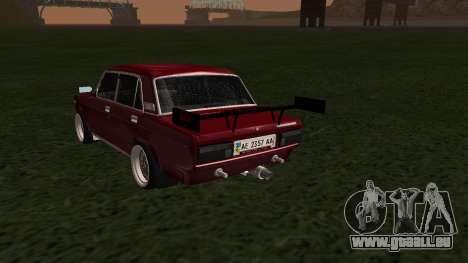 2107 JDM pour GTA San Andreas laissé vue