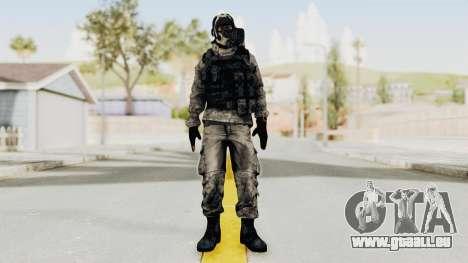 Battlefiled 3 Russian Engineer pour GTA San Andreas deuxième écran