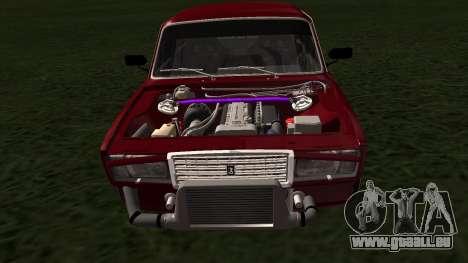 2107 JDM pour GTA San Andreas vue de droite