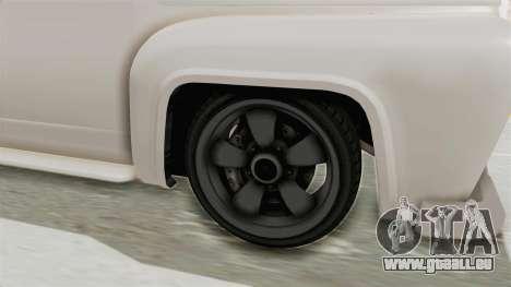 GTA 5 Slamvan Race pour GTA San Andreas vue arrière