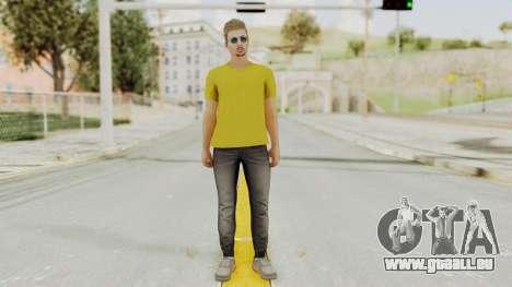 Skin from GTA 5 Online pour GTA San Andreas deuxième écran