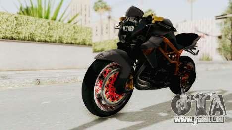 Kawasaki ER 6N Superbike für GTA San Andreas
