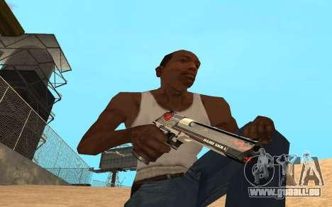 Desert Eagle Cyrex für GTA San Andreas dritten Screenshot