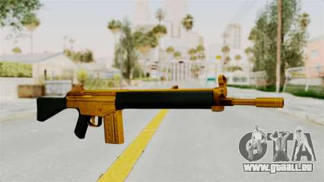 G3A3 Gold pour GTA San Andreas