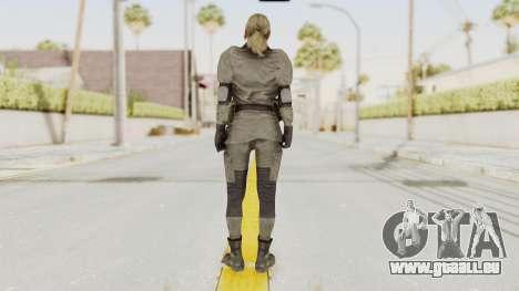 MGSV Phantom Pain Quiet Sniper Wolf für GTA San Andreas dritten Screenshot