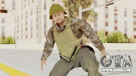 MGSV The Phantom Pain Soviet Union VH Sleeve v2 pour GTA San Andreas