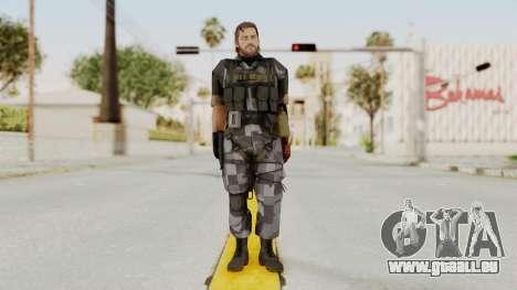 MGSV The Phantom Pain Venom Snake No Eyepatch v7 pour GTA San Andreas deuxième écran