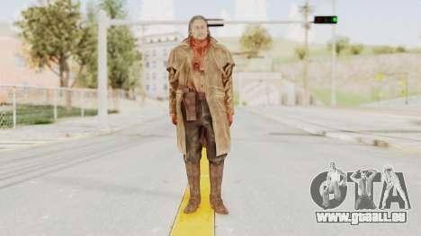 MGSV Phantom Pain Ocelot Prologue v2 für GTA San Andreas zweiten Screenshot