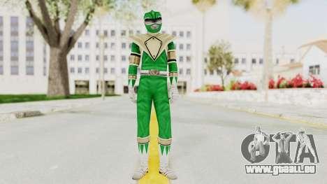 Mighty Morphin Power Rangers - Green für GTA San Andreas zweiten Screenshot