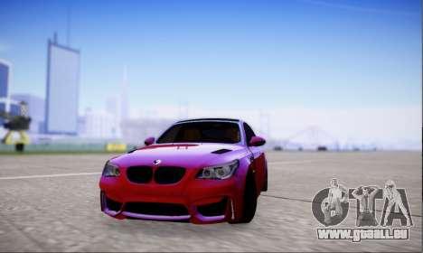BMW M5 E60 Huracan für GTA San Andreas