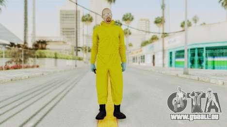 Walter White Heisenberg GTA 5 Style für GTA San Andreas zweiten Screenshot