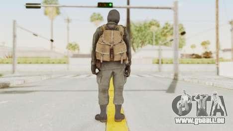 COD Black Ops Russian Spetznaz v1 für GTA San Andreas dritten Screenshot