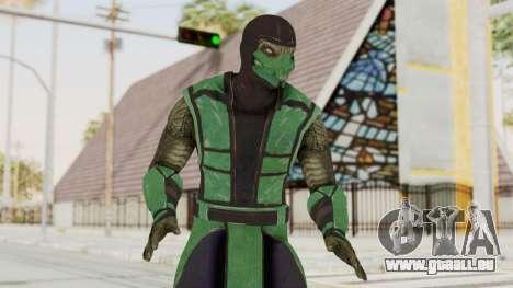 Mortal Kombat X Klassic Reptile pour GTA San Andreas