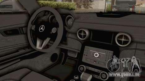 Mercedes-Benz SLS AMG 2010 Monster Truck für GTA San Andreas Innenansicht