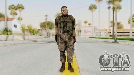 MGSV The Phantom Pain Venom Snake Woodland für GTA San Andreas zweiten Screenshot