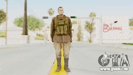 MGSV The Phantom Pain Soviet Union Sniper pour GTA San Andreas deuxième écran
