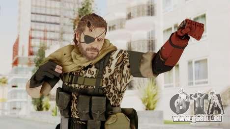 MGSV The Phantom Pain Venom Snake Scarf v8 pour GTA San Andreas