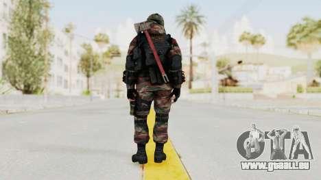 Battery Online Russian Soldier 5 v1 pour GTA San Andreas troisième écran