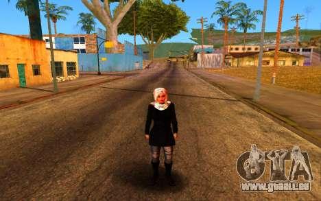 Iranian Girl pour GTA San Andreas quatrième écran
