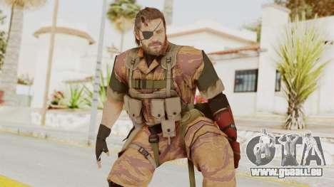 MGSV The Phantom Pain Venom Snake Golden Tiger pour GTA San Andreas