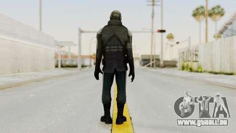 Half Life 2 - Metrocop Remake für GTA San Andreas dritten Screenshot