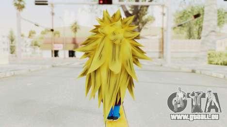 Dragon Ball Xenoverse Gohan Teen DBS SSJ3 v1 pour GTA San Andreas troisième écran