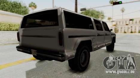 New Rancher pour GTA San Andreas laissé vue