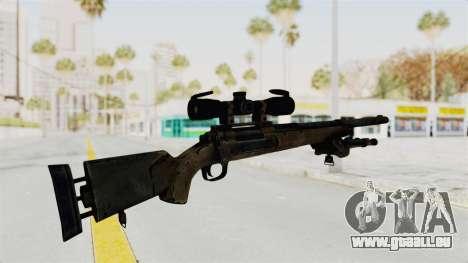 M24 Sniper Ghost Warrior für GTA San Andreas dritten Screenshot