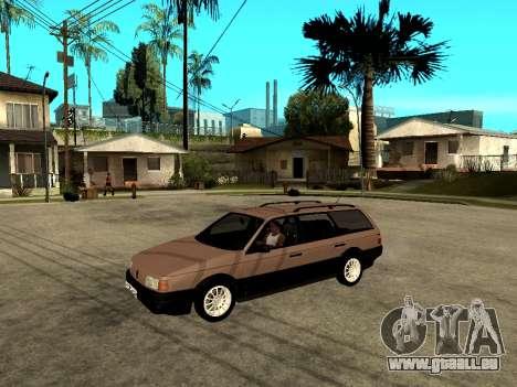 Volkswagen Passat B3 Variant pour GTA San Andreas vue arrière