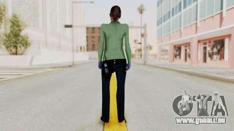 Female Medic Skin pour GTA San Andreas troisième écran