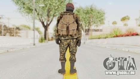 COD Black Ops Russian Spetznaz v4 für GTA San Andreas dritten Screenshot
